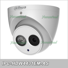 Dahua 2017 Hot sale IPC-HDW4431EM-AS IP Camera 4MP IR Eyeball Network Camera security Dome Camera Support audio POE(China)