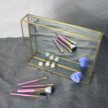 big jewelry box without cover necklace display box organizer storage ring Pendant lipstick makeup display dry flowers display(China)