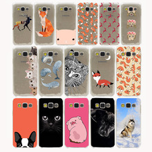 Lovely animals The deer and foxes Hard Case Cover for Samsung Galaxy S3 S4 S2 S5 Mini S6 S7 S8 Edge Plus case