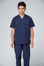Free Shipping OEM scrub sets hospital uniform medical clothing blue scrub suit hot sale