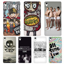 All Time Low White Phone Case Cover for Sony Xperia Z1 Z2 Z3 Z4 Z5 M4 Aqua C4 XA XZ E4 E5 L36H(China)