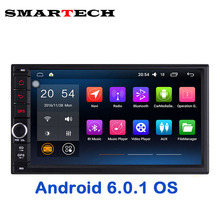 Autoradio 2Din 7 Inch Screen Android 6 Marshmallow car stereo gps for nissan qashqai kia toyota head unit car bluetooth 3G wifi(China)