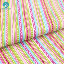 50cm*160cm Bohemian Colorful Stripe Cotton Fabric For Sewing,Bedding Textile Cloth,Pillows And Quilting Crafts(China)