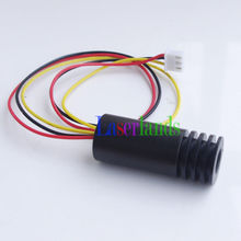 INDUSTRIAL Focusable 850nm 30mW Infrared IR Laser DOT Diode Module TTL 100khz