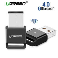 Ugreen Bluetooth Adapter V4.0 Wireless USB Bluetooth Dongle Music Sound Receiver Adapter Bluetooth Transmitter for Computer PC