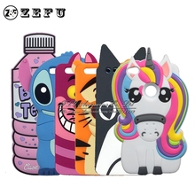 ZEFU 3D Cartoon Stitch Case For Huawei Lite 2017 Honor 8 Lite / Nova Lite Horse Dog Cat Tiger Soft Phone Bags