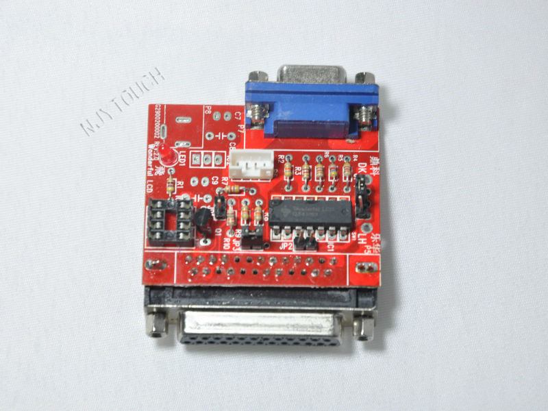 Free Shipping Parallel Programmer for Burning LCD Controller Board PCB800099 Easy DIY<br>