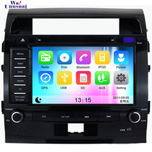 Free Shipping Wince 6.0 Car Headunit DVD Player for Toyota Land Cruiser 200(2008 2009 2010 2011 2012) With GPS SD card 800*480