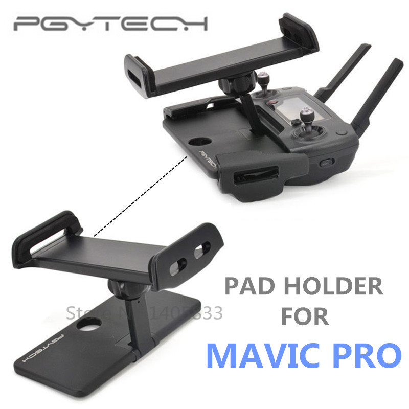 PGY DJI Mavic Pro remote control Accessories 7-10 Pad Mobile Phone Holder aluminum Flat Bracket tablte stander Parts RC drones<br><br>Aliexpress