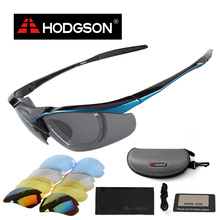 1069 HODGSON 2016 UV400 Men's Women's Running Cycling Sun Glasses Set Sports Goggles Bicycle Bike Sunglasses Set Eyewear