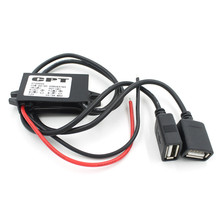 Vehicle Car Accessories Boat Motorcycle Dual USB Charger DC 12V To 5V 3A Power Adapter Supply Car-styling