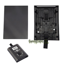 Hot Sell Slim Hard Disk Drive HDD Case Shell For XBOX 360 S Enclosure Black(China)