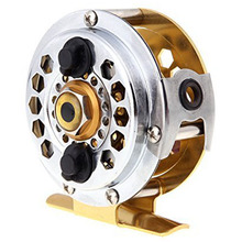 8 Pack Full Metal Fly Fish Reel Former Ice Fishing Vessel Wheel BF600A 0.50/100(mm/m) 1:1(China)