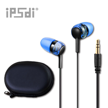 Genuine Original Ipsdi EM254C 2017 New Earphones Blue In-Ear Earphones For Xiaomi Phone Computer Mp3 Player(China)
