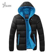 New trend 2016 Winter mens Jacket fashion Brand Warm padded Mens Parka Hooded thick Parkas Warm Winter fashion Men wq9039