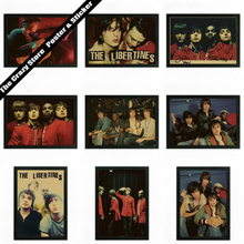 The Libertines Fan art retro nostalgia kraft poster decorative painting wall sticker