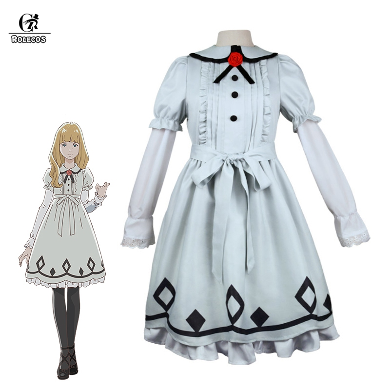ROLECOS Anime Carole & Tuesday Cosplay Costume Tuesday Lolita Dress Sweet Women Dress One-piece Lolita Costume 2pcs Sets