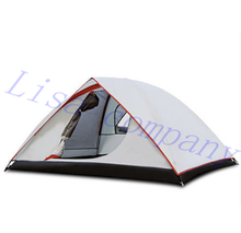 ENNJOI Tent 190T PU Fabric Ultralight 2Person Double Layers Camping Tent 4Season One Bedroom Camping Tent for Fishing,Hiking