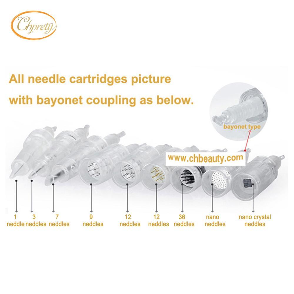 50 Pieces Electric Dr Pen Needle Cartridge Nano Needles For Bayonet Jarum Dermapen 12 Pin 1 3 5 7 36 42
