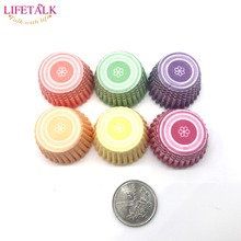LIFETALK 650PCS Mini Size Wedding Cake Decorating Paper Cupcake Liners Muffin Baking Cups(China)