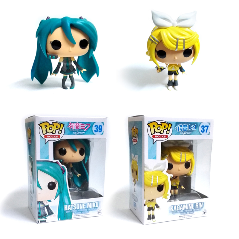 Funko POP Kagamine RIN Hatsune Miku Anime PVC Action Figure Model Figures Toy Gifts NEW Toys<br><br>Aliexpress