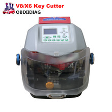 2017 Automatic V8/X6 Key Cutting Machine with Dust Cover can be used with the key keyless condition, lightweight and portable,