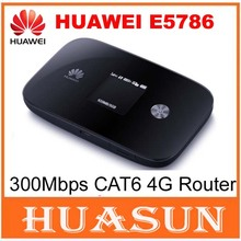 New Arrival Original Unlock 300Mbps CAT6 HUAWEI E5786 3G 4G MiFi WiFi Router With Sim Card Slot E5786s-32a 4G LTE  Mobile WiFi