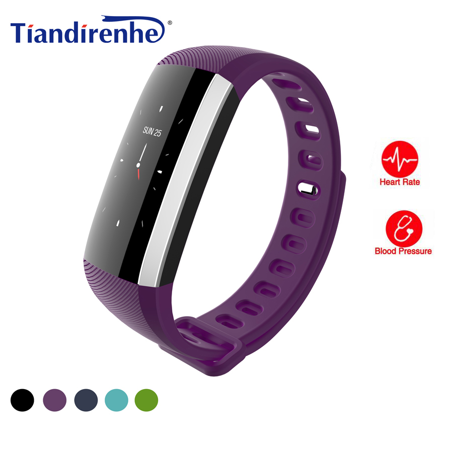 Tiandirenhe G19 Smart Wristband Blood Pressure Heart Rate IP68 Waterpoof Watches Fitness Activity Tracker Bracelet pk mi Band 2