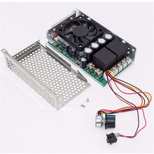 10-50V 100A 5000W Reversible DC Motor Speed Controller PWM Control Soft Start Hot Sale(China)