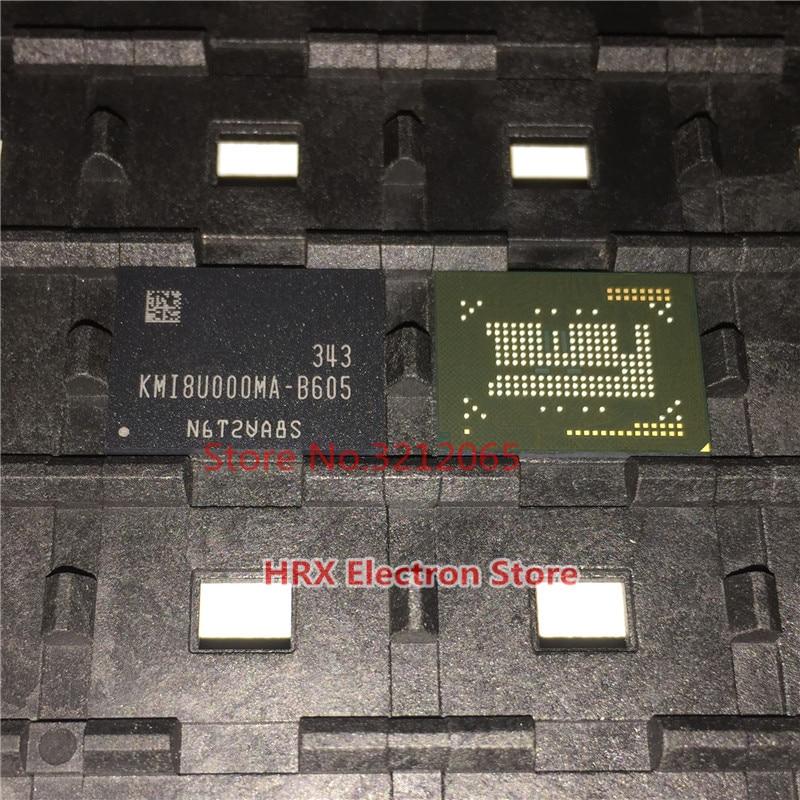 100% New Original KMI8U000MA-B605 EMCP BGA KMI8U000MA B605<br>