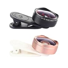 Buy ALLOET Mobile Phone Lens Mini Clip-on 110 Degree Wide Angle+15x Macro Lens Clip-on Optic Cell Phone Camera Lens Smartphone for $12.21 in AliExpress store