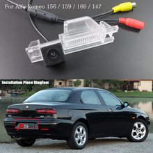Car Rear Camera FOR Alfa Romeo 156 / Reversing Park Camera / High Definition / License Plate Light Installation(China)
