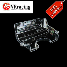 VR RACING - FREE SHIPPING for TOYOTA SUPRA 1JZ NEW racing clear pulley cover / timing belt cover / cam cover VR6336