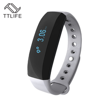 TTLIFE V2 Smart Band All-weather Heart Rate Monitor Real-time GPS Sports Trail Intelligent Reminder Wristband for iOS Android(China)