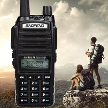 Tri Power 8W/4W/1W Baofeng UV-82 8W High Power Walkie Talkie Dual Band Radio Portable Radio UV82 10km long range two way radio