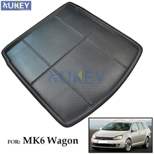 Fit For 2009-2013 Volkswagen Golf 6 Mk6 Estate Wagon Variant Boot Liner Rear Trunk Floor Mat Cargo Tray Protector 2010 2011 2012