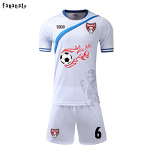 college soccer set men custom football uniforms youth training kits cheap sports suits adult survetement football jerseys 2017(China)