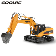 RC Excavator TOYS 2.4GHz 15CH Engineering Electric Excavator Construction T ruck RC Car Toy Model For Children Remote Control(China)
