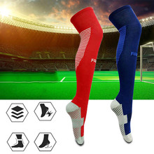 Anti-skid Sport Stocking Socks Cycling Socks Soccer Cotton Sports Snowboard Skiing Socks Thermosocks Leg Warmers sox(China)