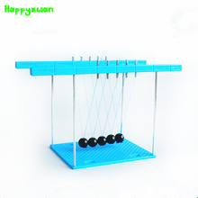 Happyxuan 2017 New Arriver Newton Pendulum Diy Puzzle Toys  Physical Science Production Experimental Model Kits