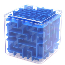 1 Pc Children Explore Labyrinth Rolling Ball Balance Brain Teaser Puzzle Game Kids 3D Maze Magic Cube Toys Baby Educational Gift