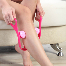 Powerful Artifact Three Thin To The 3 D Fast Leg Massager Muscle Type Foot Tool Health Therapy Care Roller Stress Relax(China)