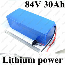 Great Power 84v 30Ah motor triciclo 3000w 1000w electric bike kit battery pack With BMS for tricycle bikes wheelchair +Charger