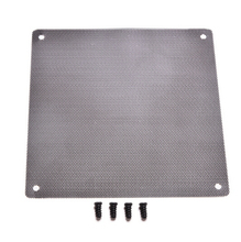 JETTING 120x120mm Computer PC Dustproof Cooler Fan Case Cover Dust Filter Cuttable Mesh Fits Standard 120mm Fans + 4 Screws 1PC