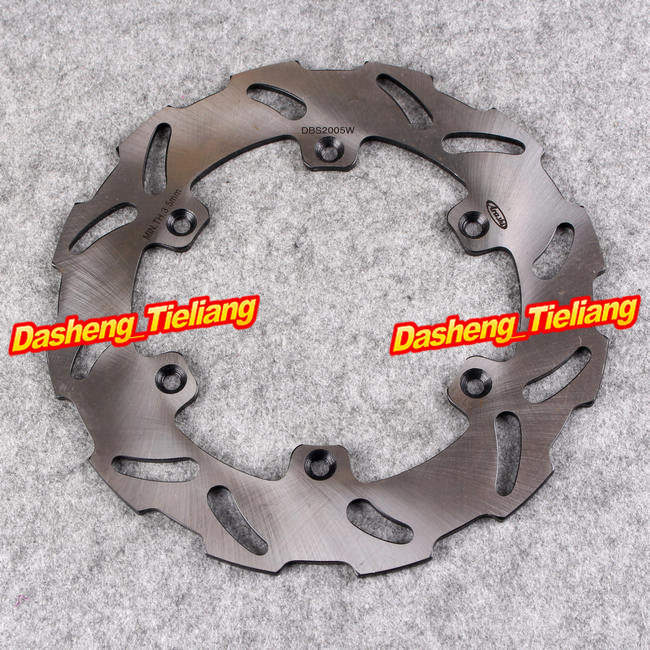Stainless Steel Rear Brake Disc Rotor For Suzuki RM 125 250 1989-1990 RMX 250S 1992-1998 DRZ 400 400E 400S, Motorcycle Parts<br>