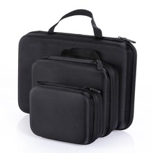 Portable Camera Case Accessories Medium Size Eva Hard Bag Box for GoPro Hero HD 4 3+ 3 2 L3FE
