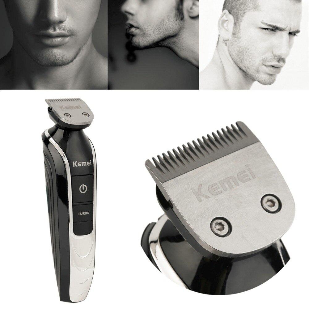 Kemei High Quality Hair Clipper Razor 5 in 1 Electric Beard Cutter 360 Degree Hair Clipper Trimmer Shaving Haircut Tool new<br>
