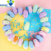 26 kind 1cm DIY Paper Printing Card Cutter Scrapbook Shaper small Embossing device Hole Punch Kids Handmade Craft gift YH27