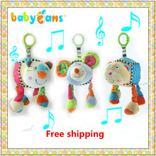 Baby stroller rattles baby mobile musical for baby 0-12 month teether crib mobile holder rattle toy baby boy ring hanging toys