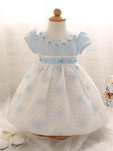 Top Quality Kid Girl Butterfly Dress Baby Clothing Brand Ceremonies Party Dresses For Girl Wedding Christening Gown For Newborn